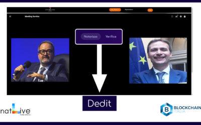 Partnership tra Natlive Srl e Blockchain Italia.io: Nasce la prima piattaforma video multiservizi integrata con la blockchain