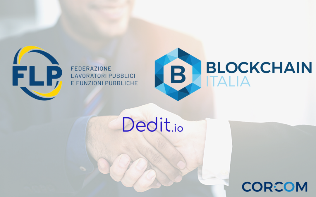 Flp and Blockchain Italia together for innovation in PA