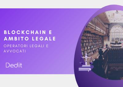 Blockchain per l'ambito legale