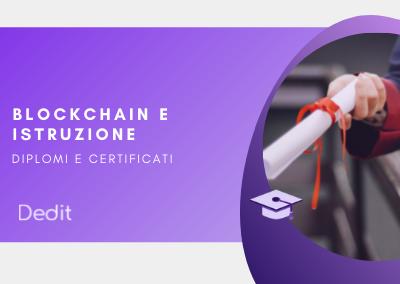 Blockchain per l'istruzione