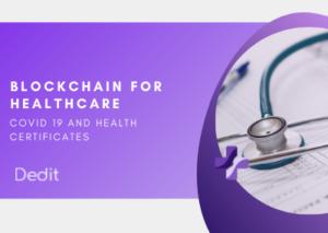 BLOCKCHAIN FOR HEALTHCARE (ANTEPRIMA)
