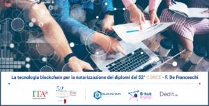 Blockchain per la notarizzazione dei diplomi