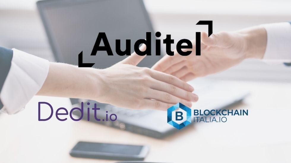 Auditel notariza en blockchain gracias a Dedit