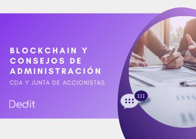 Blockchain para consejos de administración y junta de junta de accionistas
